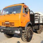 Buy truck KAMAZ 43118 6x6
