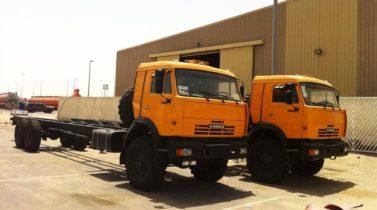 KAMAZ-43118 6X6 GVW 21600 KG