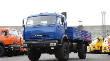 KAMAZ-4326 (4X4) Cargo body GVW, 12300 KG