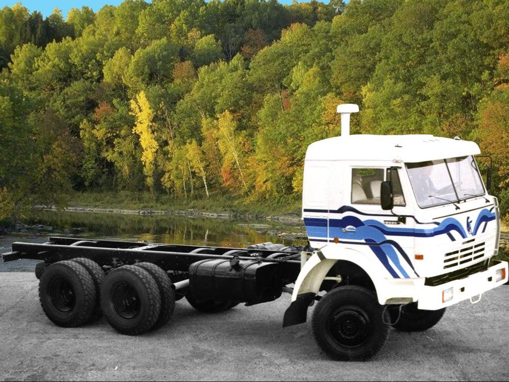 KAMAZ 53228 6X6 GVW 24000 KG