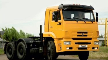 KAMAZ-6460 6X4 GCW 62000 KG, TRACTOR TRUCK (PRIME MOVER)