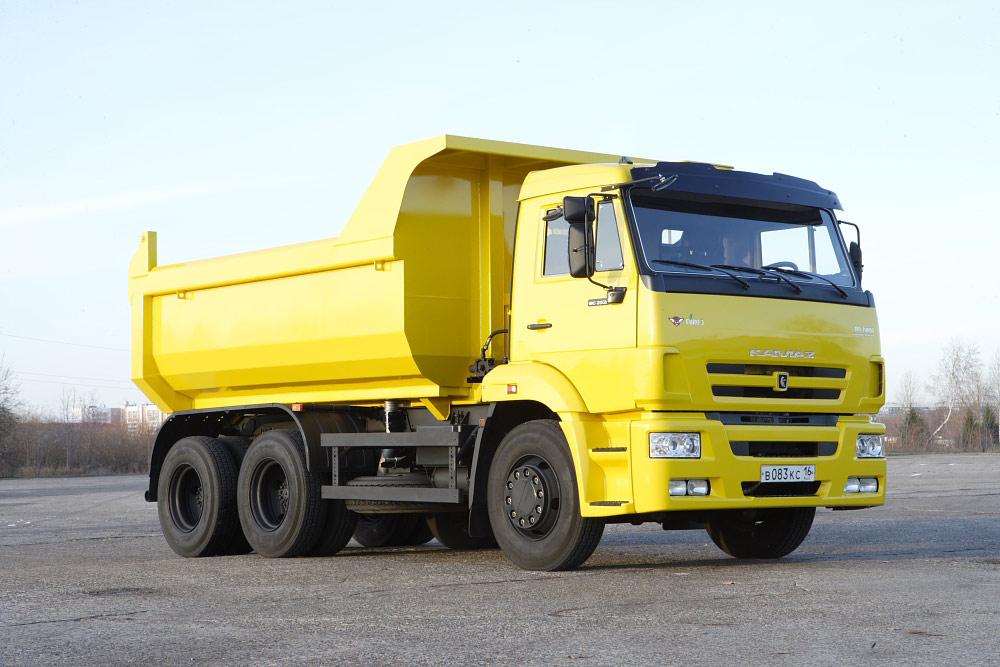 KAMAZ-65115 6X4 GVW 10625 KG