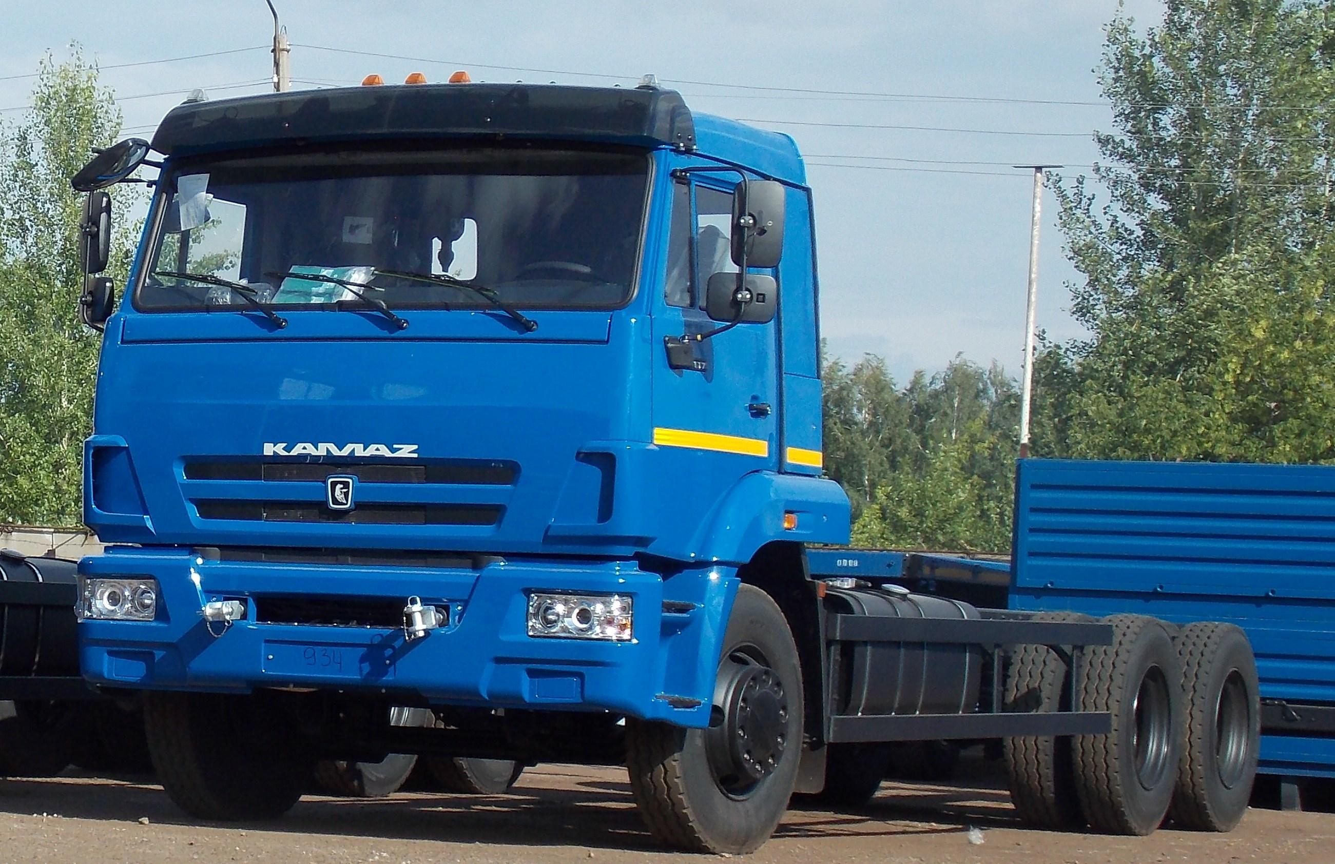 KAMAZ 65117 6X4 GVW 24000 KG