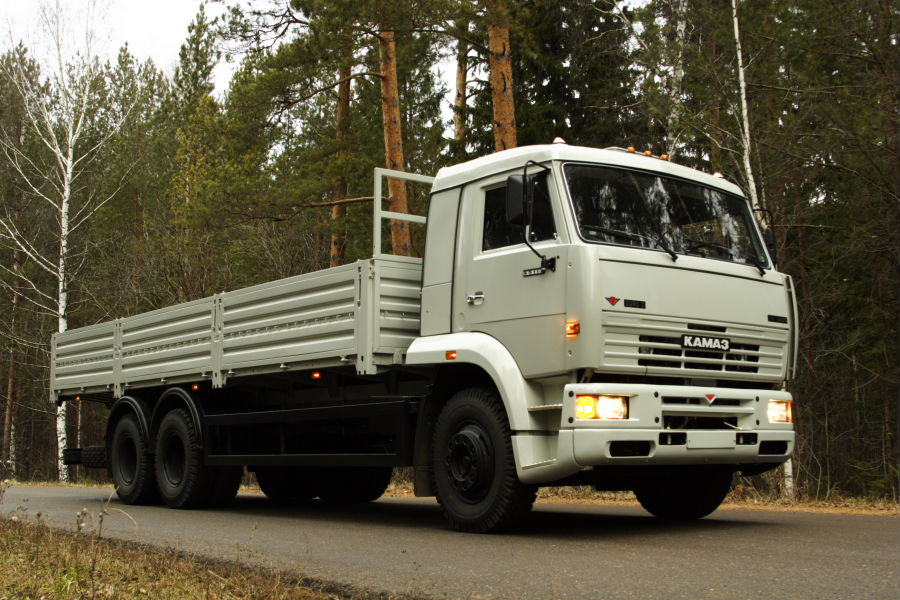 KAMAZ-65117 GVW 6X4 24000 KG