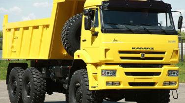 KAMAZ-65222 6X6 GVW 34000 KG