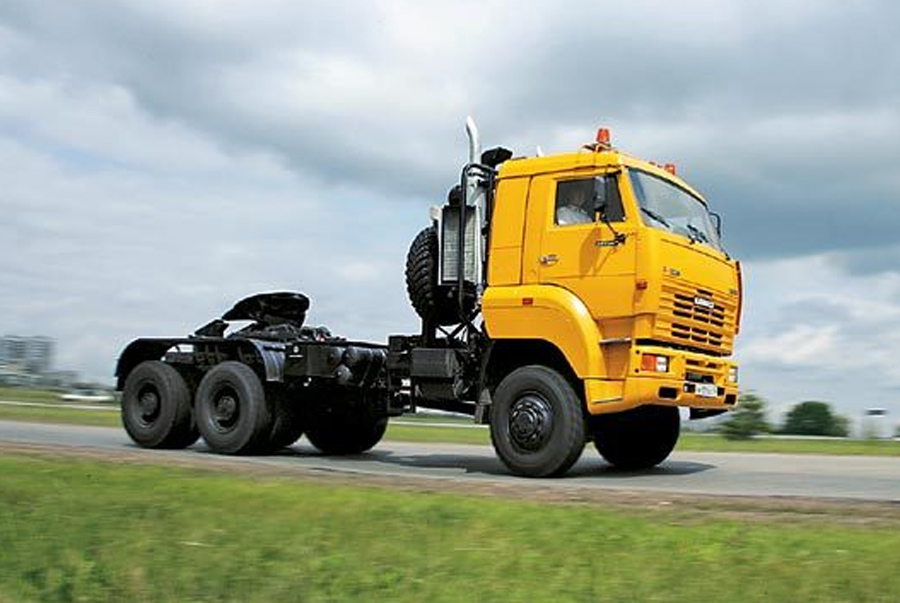 KAMAZ-65226 6X6 GCW 97000 KG, TRACTOR TRUCK (PRIME MOVER)