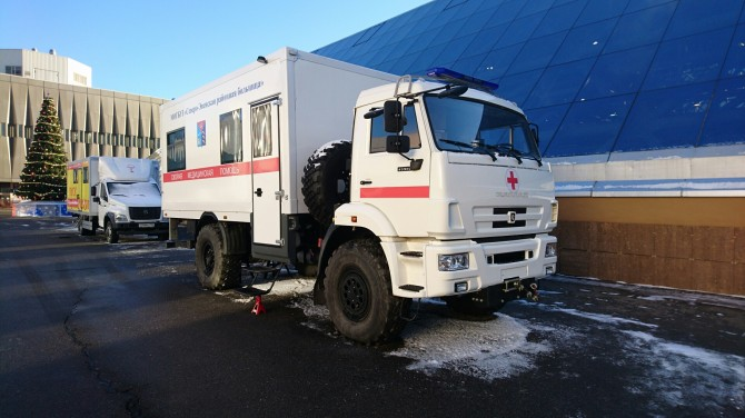 "KAMAZ presented a special vehicle of ""first aid"" for the Far North"