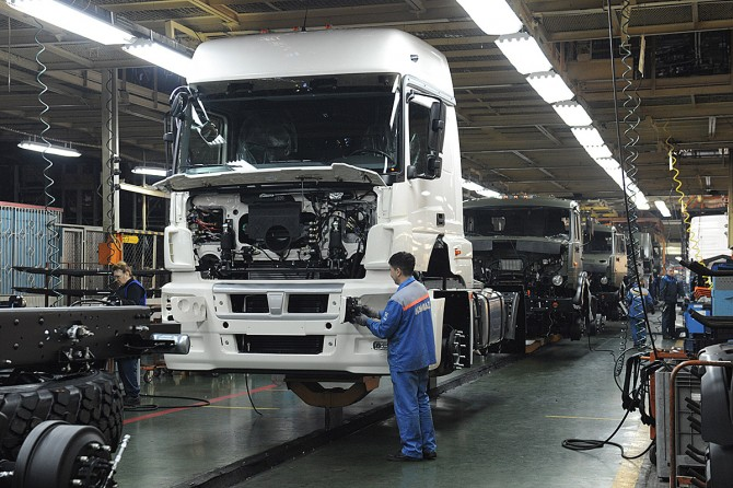KAMAZ started a program of import substitution for parts manufacturing
