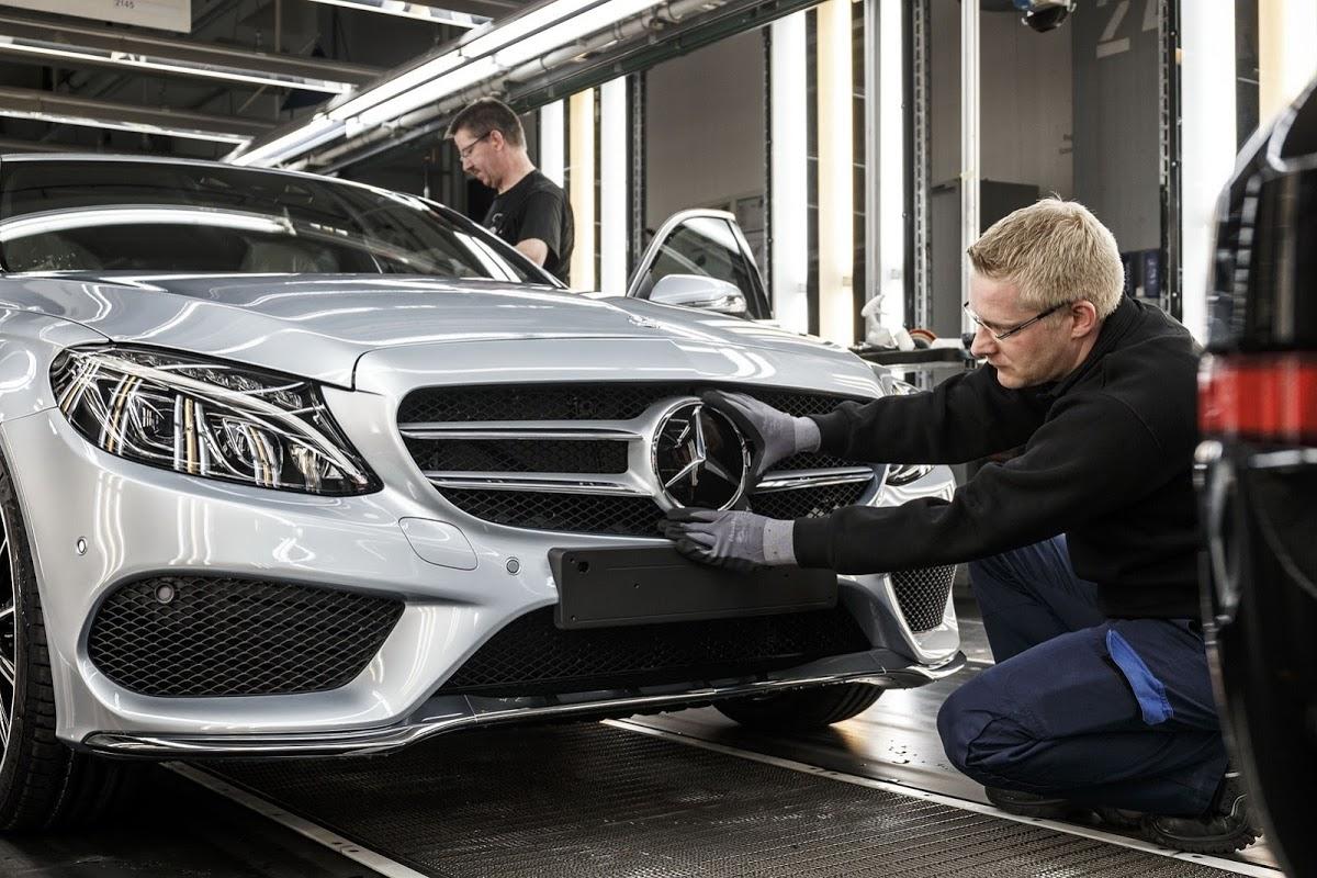 Mercedes-Benz factory in Russia