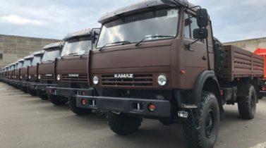 Cargo body KAMAZ-43501, 4x4, 260 hp - price by request